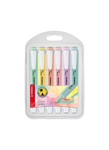 Stabilo  Swing Cool Pastel Fosforlu Kalem 6 Lı Paket 275/16 8 Renkli